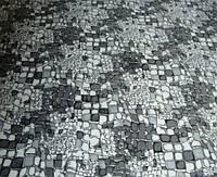Микрофибровая простынь, покрывало Elway евро Камни серые