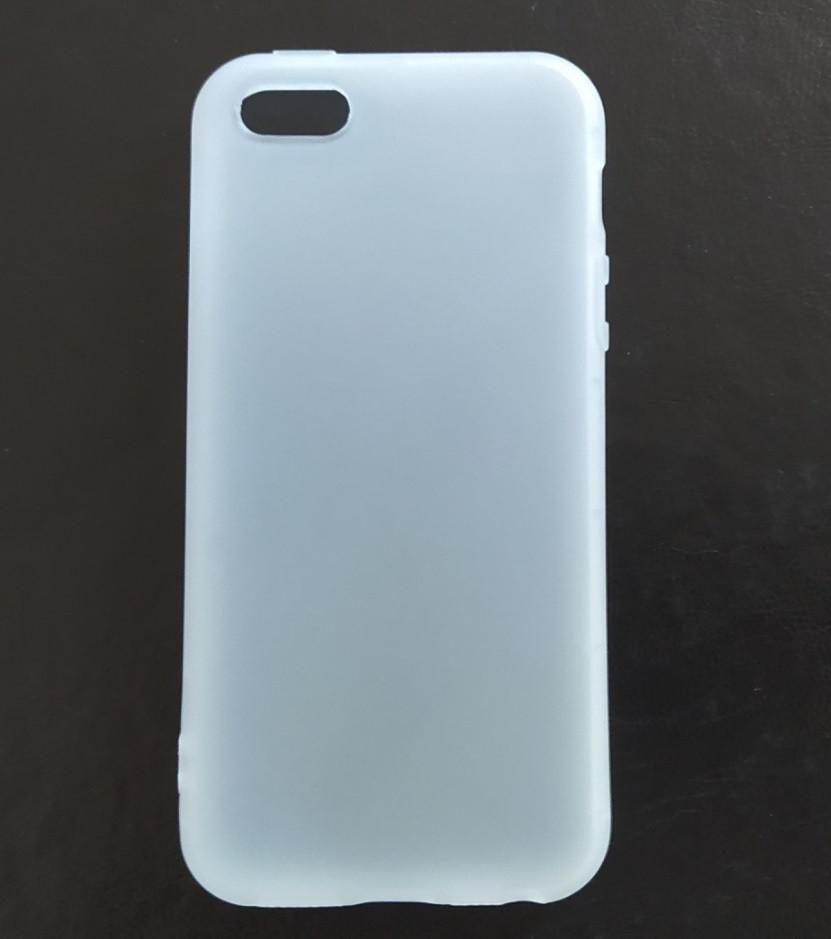 Чохол Fiji Soft для Apple Iphone 8 Plus силікон білий прозорий бампер