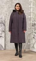 Пальто женское зимнее П-73з бардо