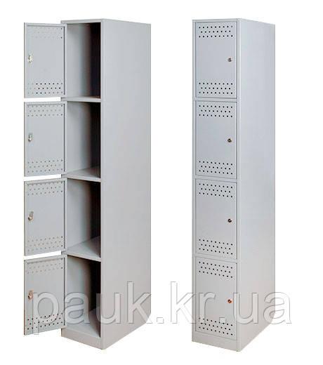 Металлический шкаф на четыре ячейки «Ристел 4»