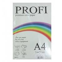 """Бумага для печати цветная """"Profi"""", набор 5 неоновых цветов по 50 листов, формат А4, Плотность 80г/м²."""