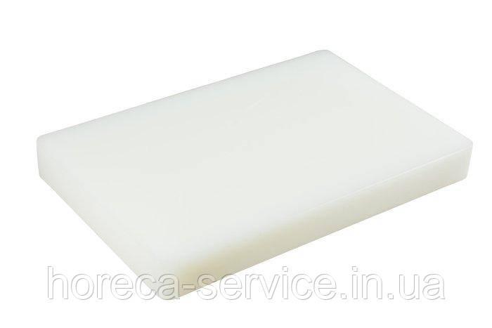 Дошка обробна пластикова білого кольору 440*300*50 мм (шт)