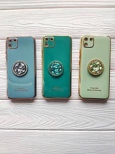 Чехол Ring Stones для Realme C11 силиконовый бампер (разные цвета)