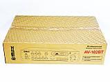 Усилитель звука Max AV-102BT Bluetooth USB + КАРАОКЕ 2микрофона, фото 5