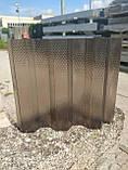 Поликарбонат профилированный TOPLIGHT GR 76/18 UV2 0.9мм бронза микропризмы 1,045х6м, фото 2