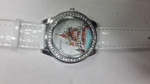 Часы кварцевые Moscow White