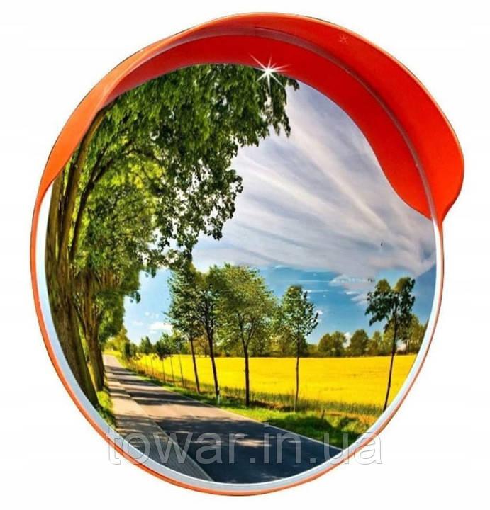 Сферическое дорожное зеркало:  диаметр 60см