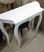 Консольный столик Софи, цвет белый / слоновая кость