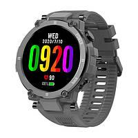 Kospet Raptor Gray лучшие противоударные смарт часы по доступной цене. Гарантия 12 месяцев