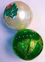 """Ёлочная игрушка шар """"Микс"""""""" d=10 см пластик, цвета в ассортименте"""