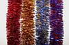 Новогодний дождик (мишура) L=3м, D=5см, цвета в ассортименте