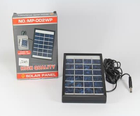 Солнечная панель Solar board 2W-6V+ mob. charger с возможностью заряжать мобильный  код 26