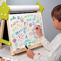 Мольберт для рисования и учебы 5 в1 детский настольный