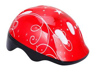 Шлем велосипедный детский Красный