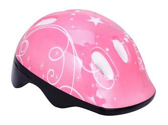 Шлем велосипедный детский Розовый