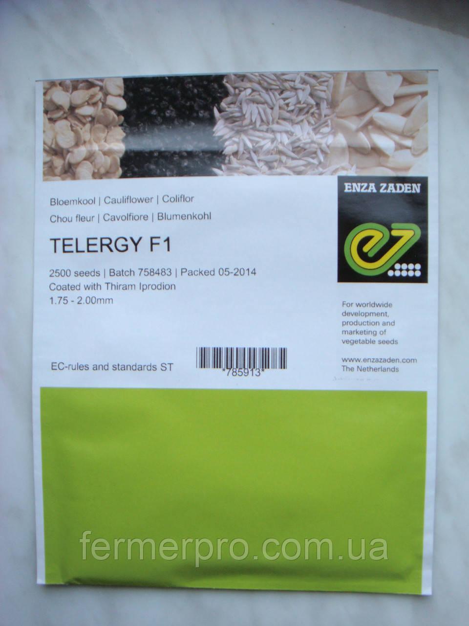 Семена цветной капусты Телержи F1 \ Telergy F1 2500 семян Enza Zaden