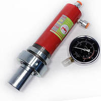 Цилиндр гидравлический(гидроцилиндр) для пресса с манометром 20 тонн Profline 97320