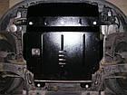 Защита радиатора и двигателя на Мерседес GLS (Mercedes GLS Х166) 2015-2019 г , фото 4
