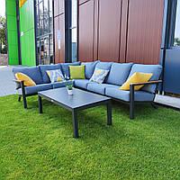 Модульный комплект мягкой мебели Lilis/1011 с кофейным столиком для сада, дома или террасы