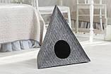 """Домик для животных """"Пирамида"""" с подушкой, Digitalwool, фото 2"""
