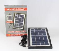 Солнечная панель Solar board 3W-9V+torch charger с возможностью заряжать фонарь код 39