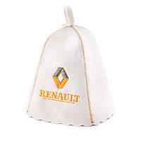 Шапка для сауны с вышивкой 'Рено', шапка для бани, сауны