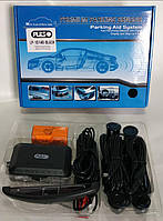 Парктроник PULSO LP-10140/LED/4 датчика D=22mm/коннектор/Black/bк