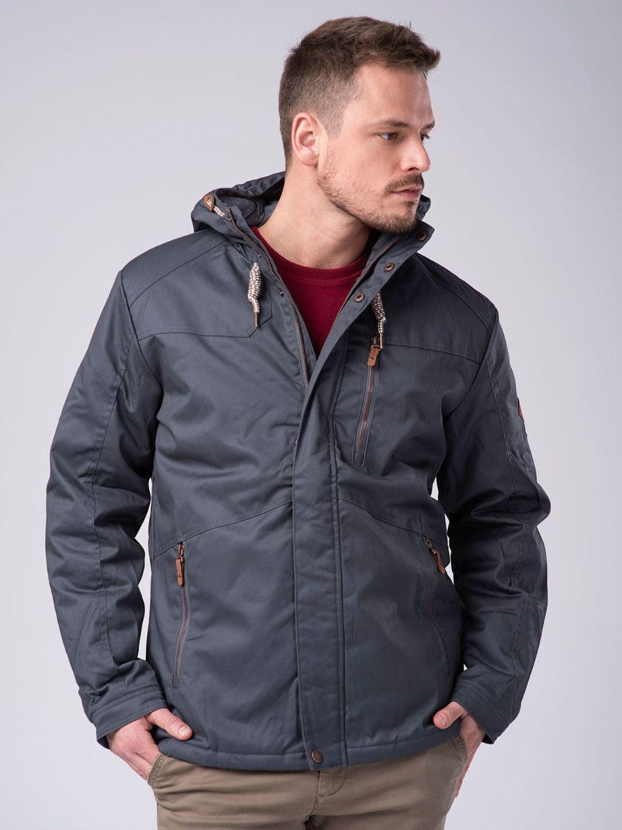 Демисезонная мужская серая куртка Volcano J-Walker M06037-705
