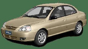 Спойлера для Kia (Киа) Rio/K2 1 (DC) 2000-2005