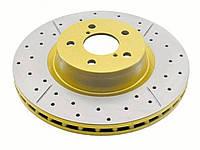 Тормозные диски DBA Gold Mitsubishi L200 long Передний (DBA2208X), фото 1