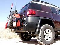 Задний бампер Kaymar Toyota FJ Cruiser (K3660-S), фото 1