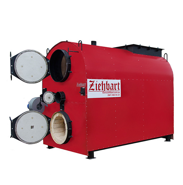 Промышленный пиролизный  котел Ziehbart 350 с газификацией древесины