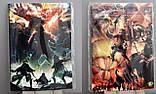 "Набір ""Атака на титанів"": Скетчбук, зошит, блокнот і пенал, фото 3"