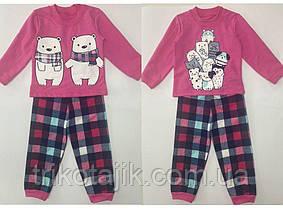 Пижама на девочку с начесом