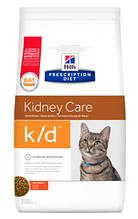 Лечебный корм для кошек HILL'S (Хиллс) PD Feline k/d при заболеваниях почек и сердца, 1,5 кг