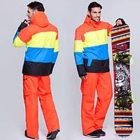 Яркий молодёжный горнолыжный костюм