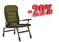 Кресло карповое рыбацкое 2020 Elektrostatyk FK6 комфортное. Нагрузка 150кг/max