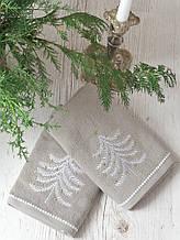 Набор полотенец Pavia Christmas tree V3 (45x70-2шт.) бежевый