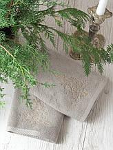 Набор полотенец Pavia Christmas tree V2 (45x70-2шт.) бежевый
