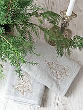 Набор полотенец Pavia Christmas tree V2 (45x70-2шт.) серый