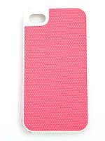 Чехол-накладка для Apple iPhone 4/4S, NetStar, силиконовый прорезиненный, Розовый /case/кейс /айфон, фото 1