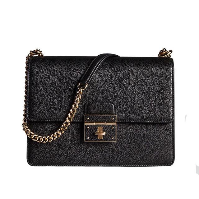 rosalia black bag Dolce & Gabbana