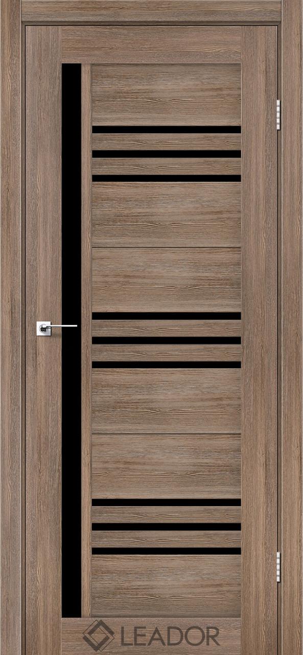 Двери Leador COMPANIA серое дерево BLK