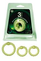 Эрекционные кольца для пениса набор 3 Rings Passion Booster Silicon