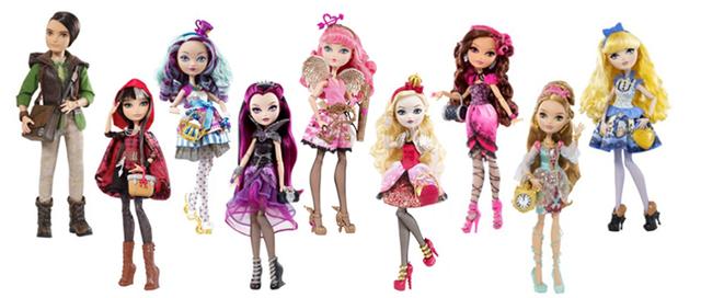 Куклы EVER AFTER HIGH персонажи