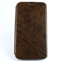 Чехол-книжка для Samsung Galaxy Mega 6.3, i9200,  боковая,  i-Pub, Коричневый /flip case/флип кейс /самсунг, фото 1