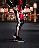 BREAKER Мужской зимний спортивный костюм красный утепленный с капюшоном. Худи  красное, штаны красные, фото 4