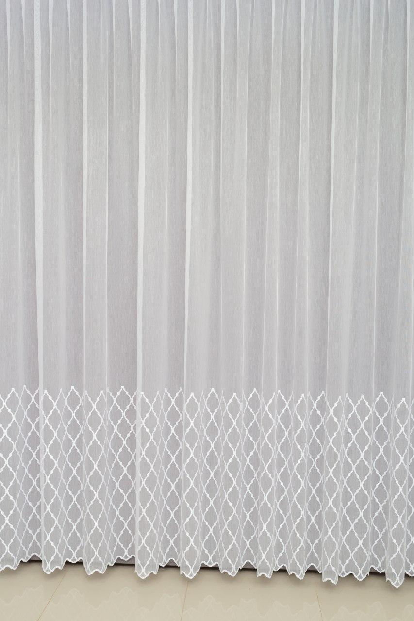 Готовая турецкая тюль бамбук на окна цвет белый,золото, молочный  , пудра , сирень (обработка сторон + 40 грн)