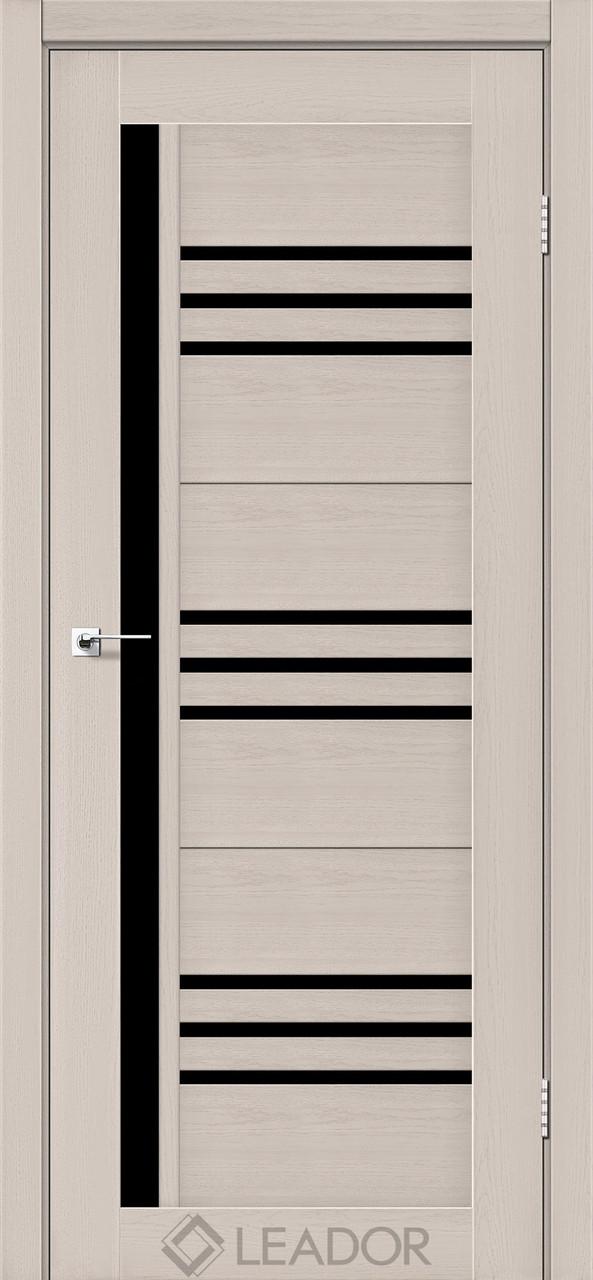 Двери Leador COMPANIA Дуб латте BLK