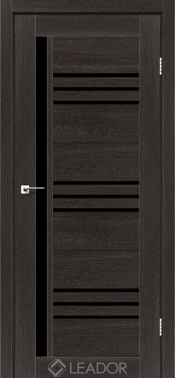 Двери Leador COMPANIA Дуб саксонский BLK